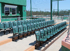 An example of stadium-type seats